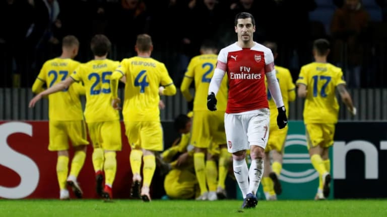 Twitter Reacts as Calamitous Arsenal Fall to Embarrassing Europa League Defeat at BATE Borisov