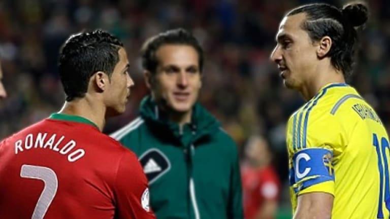"""Zlatan criticó sin piedad a Cristiano Ronaldo por llamar """"reto"""" ir a Italia a jugar con la Juventus"""