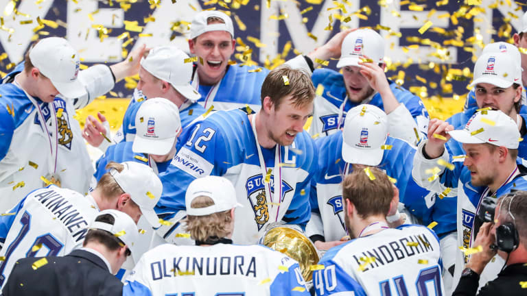 Finland Defeats Canada for Gold at Hockey World Championship