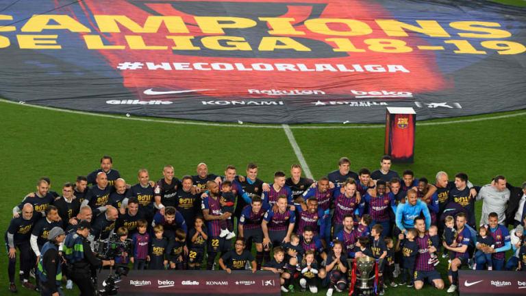 Ernesto Valverde Reacts to Barcelona's 8th La Liga Title in 11 Years Following Levante Win