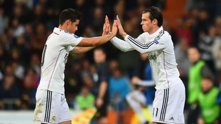 Bale y James se queda fuera de la convocatoria para la Audi Cup en Múnich