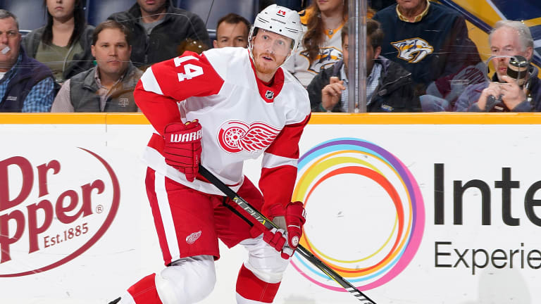 Red Wings Send Forward Gustav Nyquist to Sharks