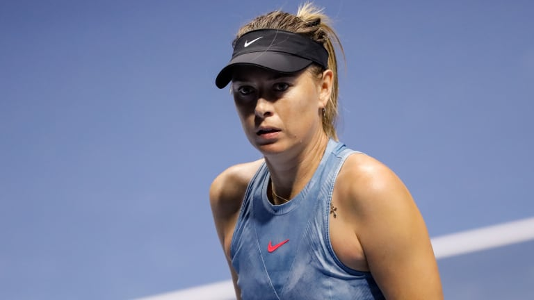 Maria Sharapova Withdraws From Rome With Lingering Shoulder Injury