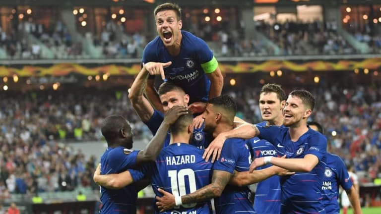 Chelsea 4-1 Arsenal: Report, Ratings & Reaction as Blues Run Riot to Claim Europa League Glory