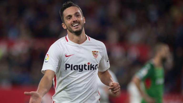 Sarabia paraliza su renovación con el Sevilla a la espera de la llamada del Real Madrid
