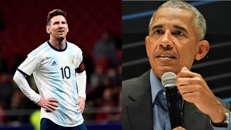 Barack Obama habló sobre liderazgo y  explicó por qué Messi no gana un Mundial con Argentina