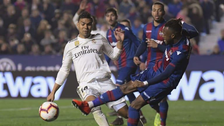 El futbolista que le hizo el 'penalti' a Casemiro se rompió el cruzado anterior en esa jugada