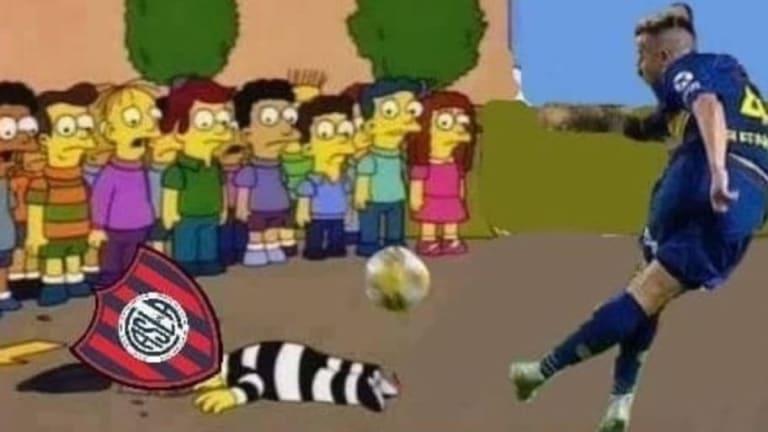 Los mejores memes tras la rabona de Buffarini en la goleada de Boca a San Lorenzo