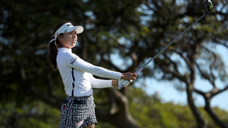 Mi Hyang Lee Takes One-Shot Lead at Weather-Hit Evian Championship