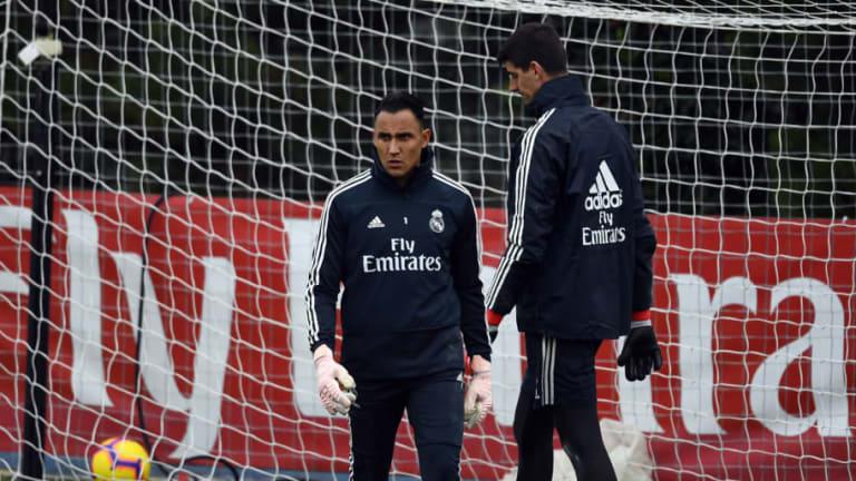 Así está la lucha por la portería en el Real Madrid