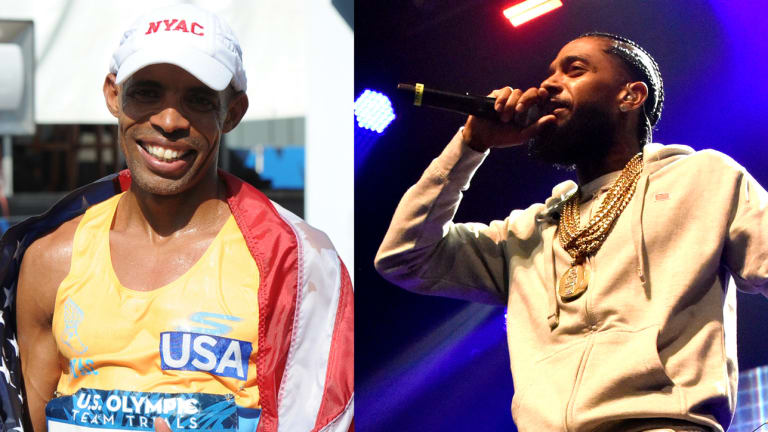 Meb and Merhawi Keflezighi Share an Unexpected Connection With Nipsey Hussle