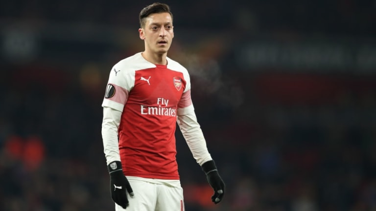Unai Emery Claims Mesut Ozil 'Holds the Key' to His Arsenal Future as He Looks to Return to Lineup