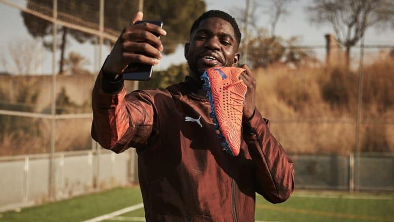 Photos: Samuel Umtiti Becomes Latest Big Name to Join PUMA Football Family