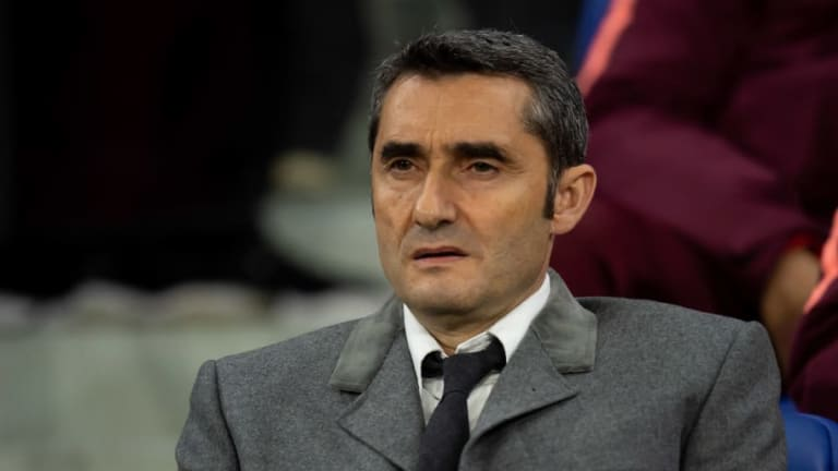 Ernesto Valverde Admits Tie Is 'Up in the Air' After Barcelona Suffer Stalemate in Lyon