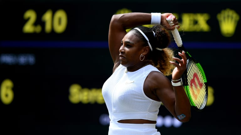 Serena Cruises Past Suarez Navarro, Reaches 13th Wimbledon Quarterfinal