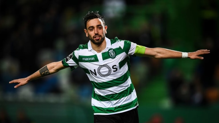 Man Utd Make 'First Contact' Over Sporting CP Playmaker Bruno Fernandes Ahead of £50m Move