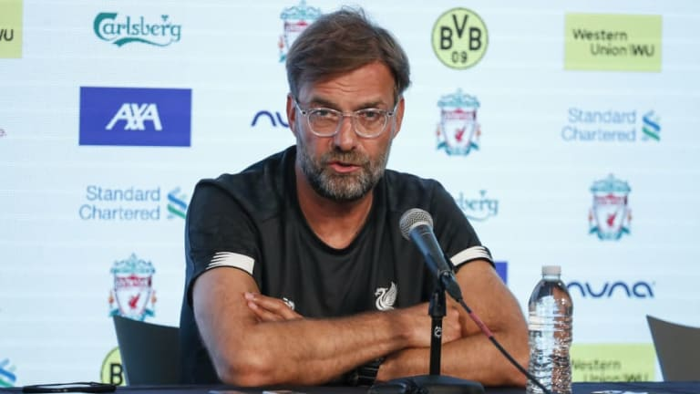 Jurgen Klopp Insists Contract Extensions Are a Signal of Intent Just as Important as Transfers