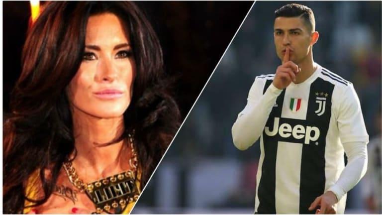 """El ataque de la exnovia de Cristiano Ronaldo: """"Toda su vida es una mentira. Es un jodi** psicópata"""""""