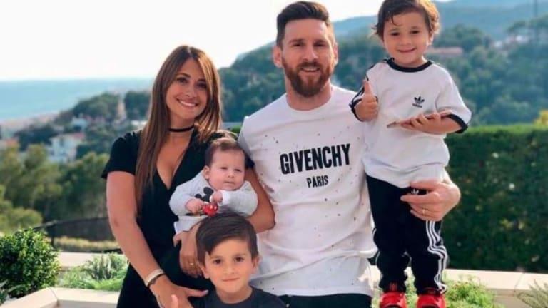 El genial 'photoboom' de Thiago, el hijo mayor de Lionel Messi