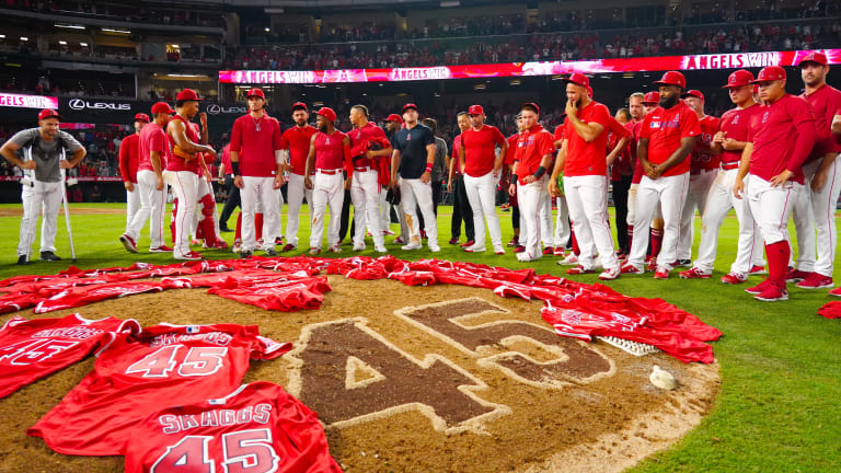 'He Pitched for Me': How the Angels Honored Tyler Skaggs in the Most Emotional No-Hitter in MLB History