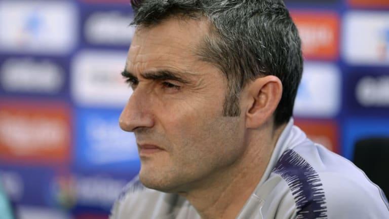 """Ernesto Valverde: """"Queremos volver a ganar. Nos hace falta"""""""
