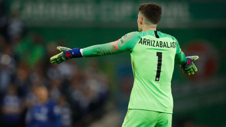 Kepa Arrizabalaga 'Squared Up' to Willy Caballero in Chelsea Dressing Room Clash