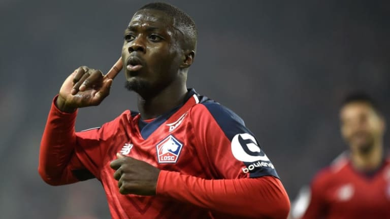 Nicolas Pepe Has 'Heart Set on Premier League Move' Despite Liverpool's Stance on Lille Forward