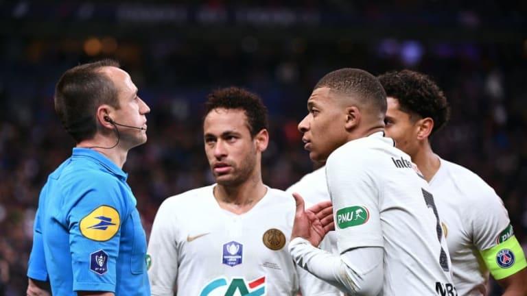 Mbappé fue sancionado con tres partidos y pone en bandeja la Bota de Oro a Messi