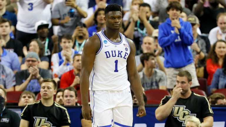Zion Williamson Heavily Favored on March Madness Most Outstanding Player Odds
