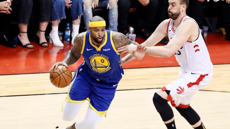 DeMarcus Cousins Got His NBA Finals Moment in Game 2   Open Floor Podcast