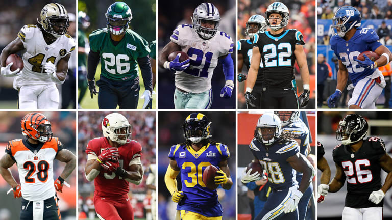 The NFL's Top 10 Running Backs for 2019 | The MMQB NFL Podcast