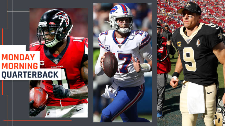 Brees and Big Ben Concerns, the Ryan-Julio Hookup, Dak's Magic and Poised Josh Allen: Week 2 in the NFL