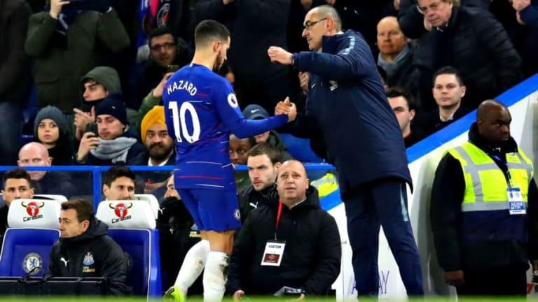 Chelsea Assistant Gianfranco Zola Opens Up on Apparent Rift Between Maurizio Sarri and Eden Hazard