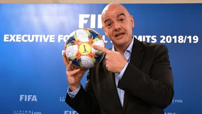 FIFA President Hails 'Positive' VAR Tests Ahead of Proposed Use at Women's World Cup