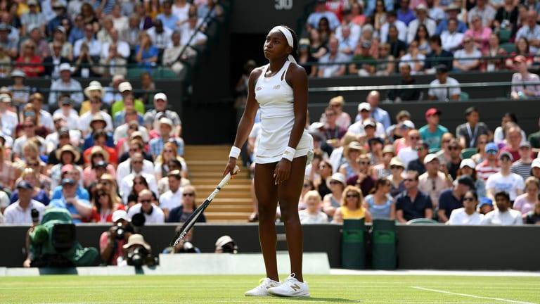 Coco Gauff Falls to Simona Halep, Ending Remarkable Run at Wimbledon