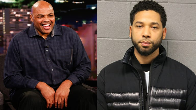 Traina Thoughts: Charles Barkley Manages to Connect Jussie Smollett and Liam Neeson