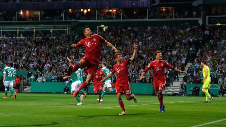 Werder Bremen 2-3 Bayern: Report, Ratings & Reaction as Lewandowski Double Seals DFB Final Spot