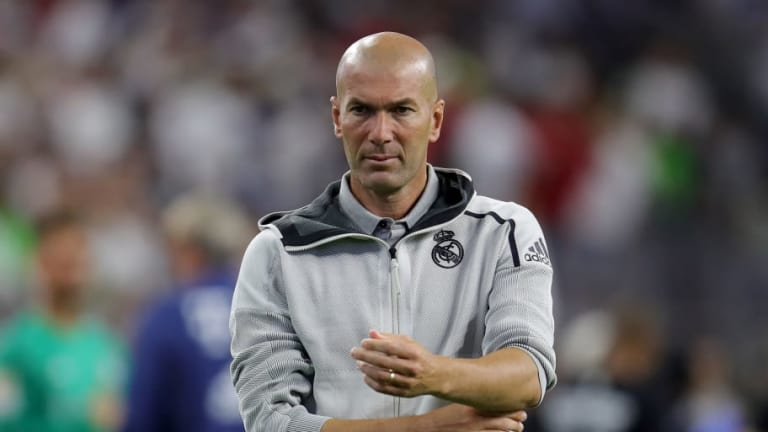 Summer Disasterclass Opens Fissures Which Will See Zinedine Zidane Leave Real Madrid This Season