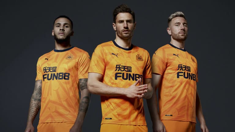 Newcastle United & PUMA Unveil New Third Kit Inspired By St James' Park