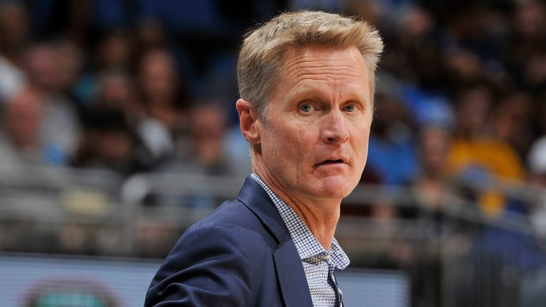 Steve Kerr Denies Saying 'I'm So F------ Tired of Draymond' During Loss to Suns