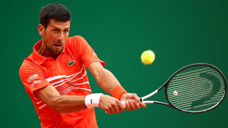 Novak Djokovic Labors Into Monte Carlo Third Round With Scrappy Win
