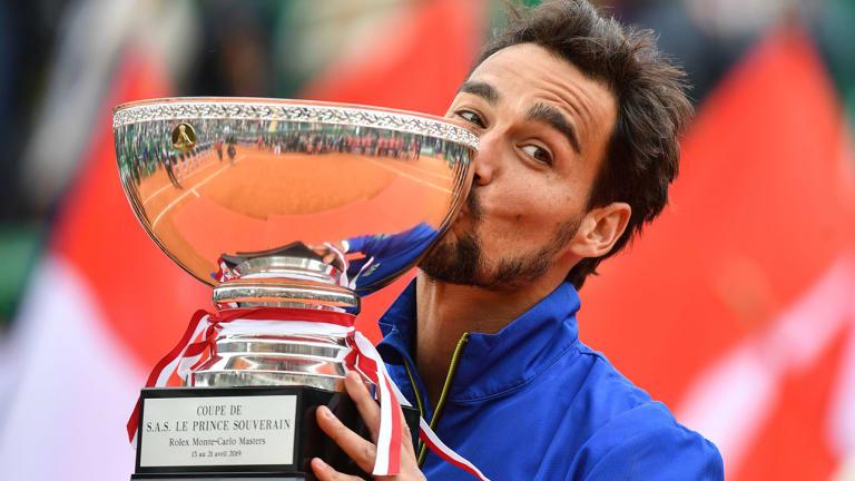 Fabio Fognini Realizes Boyhood Dream After Winning Monte Carlo Masters