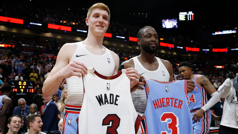 Tuesday's Hot Clicks: Dwyane Wade Shocks Rookie Kevin Huerter By Asking to Swap Jerseys
