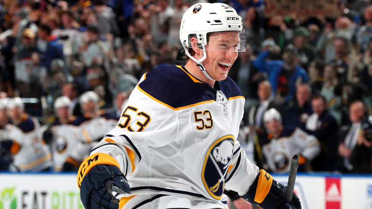 Jeff Skinner Focused on Present in Buffalo Rather Than Future