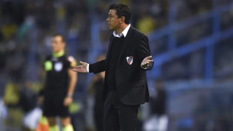 """Gallardo: """"No vi que Ferreira me haya dado la mano"""""""