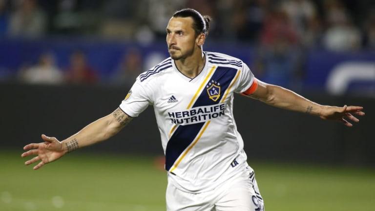 Zlatan Ibrahimovic elogió a los mexicanos del LA Galaxy