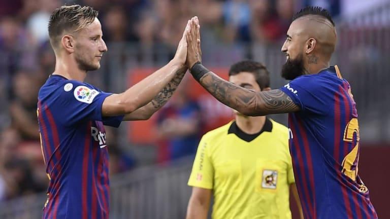 Rakitic o Vidal podrían salir del FC Barcelona ante el exceso de centrocampistas