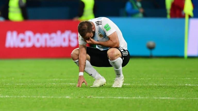 EL ADIÓS   Gonzalo Higuaín anunció su retiro de la selección argentina