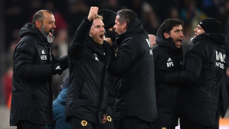 Nuno Espirito Santo Lauds 'Character' of Wolves Players After Stoppage-Time Equaliser