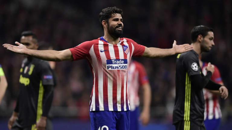 ¡Ni una patada! | Las causas de las 3 tarjetas amarillas a Diego Costa en Champions League